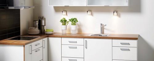 komfort hvit eik kjøkkeninnnredning