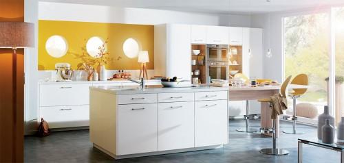 luna hvit blanc veine kjøkkeninnredning