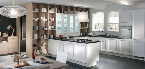 lynka blanc matt hvit kjøkkeninnredning