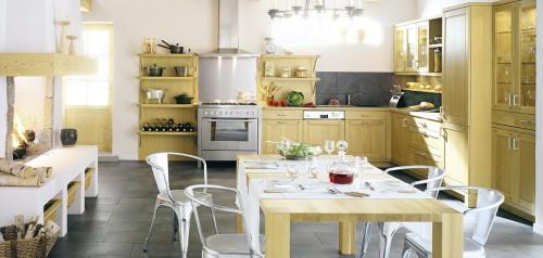 magellan chene natur kjøkkeninnredning