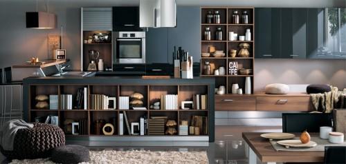 melia graphite brillant kjøkkeninnredning