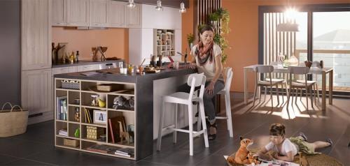 lys eik profil kjøkkeninnredning