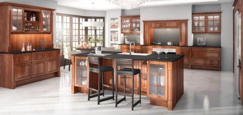perrine brun kjøkkeninnredning