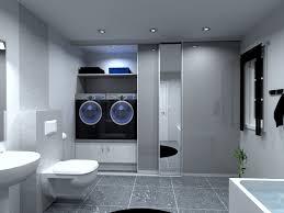 vaskerom med skyvedører